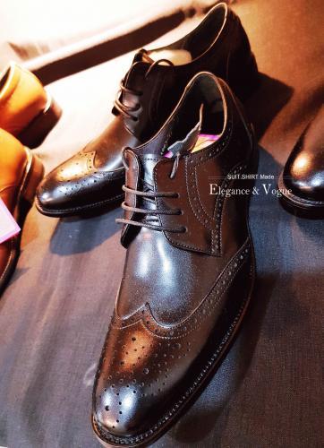 經典真皮皮鞋